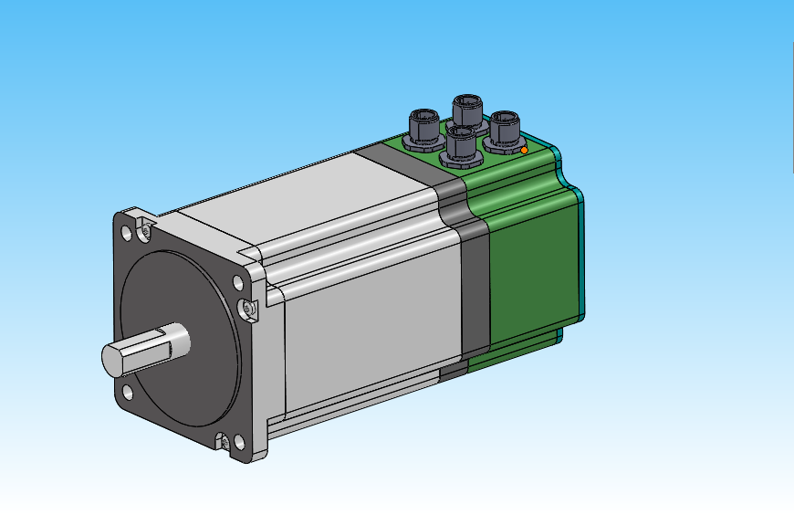 Several absolute value stepping motors are sold on the market