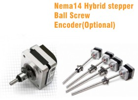 Ball Screw Type Linear Actuator-Nema14