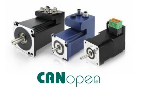 CANopen closed-loop stepping motors