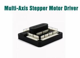 Multi-axis stepper motor driver