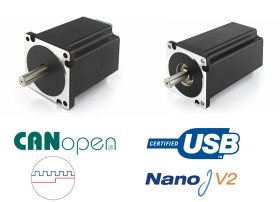Nema34 Integrated Motors
