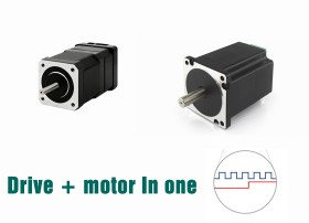 Integrated Motors with Pulse driver