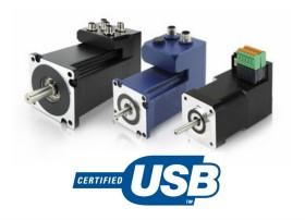 USB interface Servo Motors